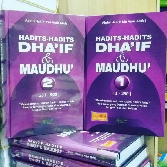 harga Hadits-hadits dha'if & maudhu set 2 jilid Tokopedia.com