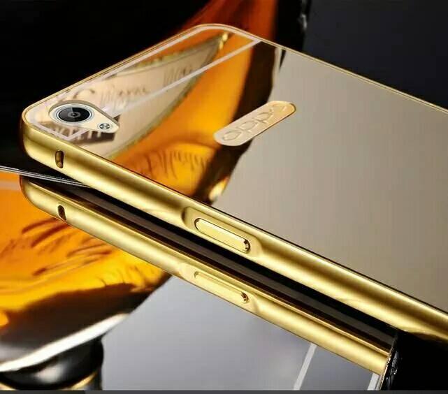 wholesale dealer 500e6 f282f Jual luxury mirror bumper case oppo neo 9 A 37,backcover mirror oppo A37 -  Kota Bekasi - beautyfull case | Tokopedia