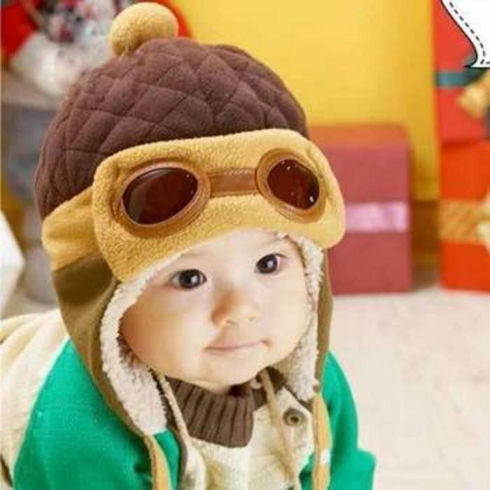 Topi pilot korea anak ( korean cap bayi kupluk balita gaul ) 22e2909e35