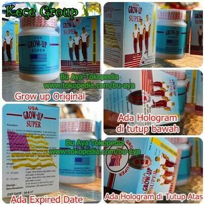 Foto Produk Promo Grosir Suplemen Penambah Tinggi Badan Zenith Grow Up Usa Asli dari Jaya Group Farma