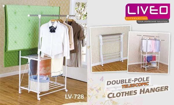 Info Liveo Double Pole Clothes Hargano.com