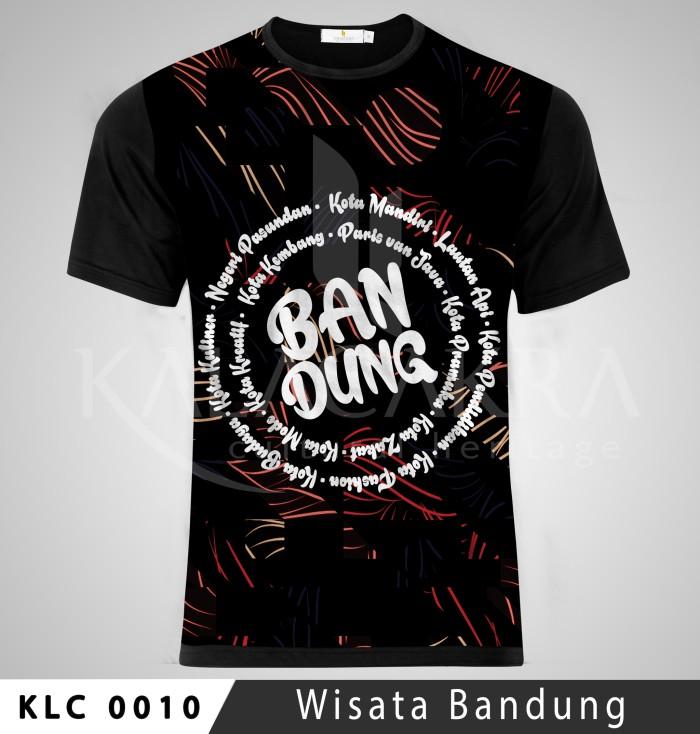 Kaos Wisata Bandung Kalacakra Klc
