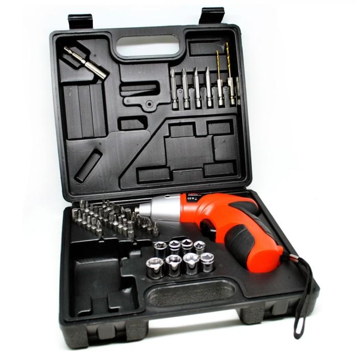 harga Cordless Multifunction Screwdriver Set 45 Pcs / Bor Obeng Elektric Tokopedia.com