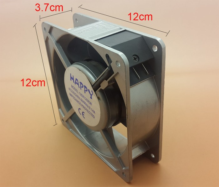 harga Panel fan / kipas angin komputer 30w ac 220v  12 x 12 x 3.7 cm Tokopedia.com