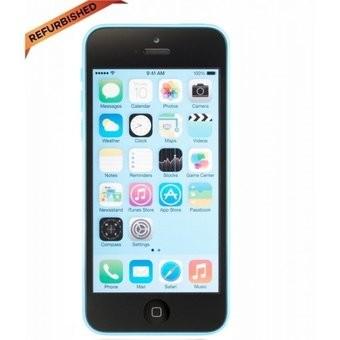 Apple iphone 5c 16 gb biru grade a++