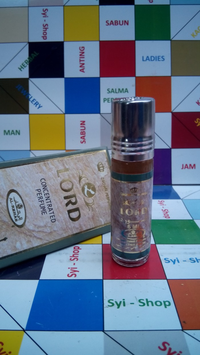 Jual Parfum Al Rehab Lord Non Alkohol Syi Shop Tokopedia