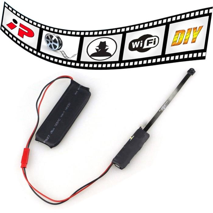 harga Kamera pengintai wifi ip spy hidden camera 640p - black Tokopedia.com
