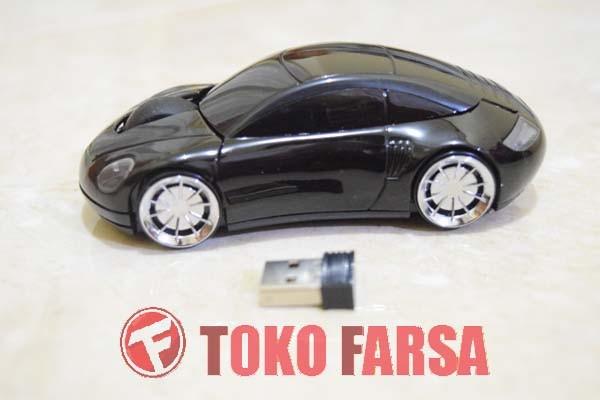 harga Wireless car style optical mouse black 2.4ghz mouse mobil unik hitam Tokopedia.com