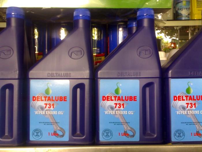 harga Deltalube 731 blue super engine oil - 20w50 - 1 liter Tokopedia.com