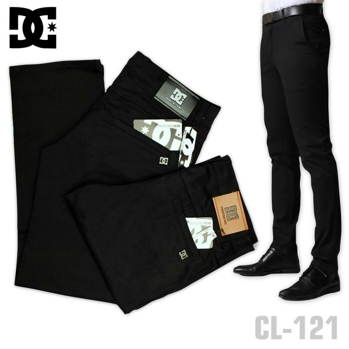 harga Celana chino panjang hitam dc/zara/psd | celana catoon twill Tokopedia.com