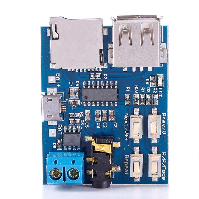 harga Mp3 player audio decoding decoder module board with micro usb port Tokopedia.com