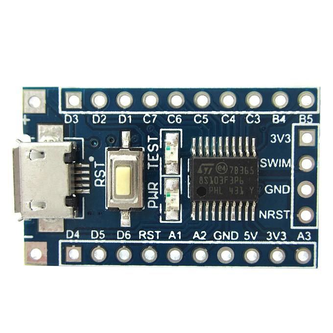 Foto Produk STM8S103F3P6 STM8 Core-Board Development Board MCU-8bit STMicro dari solarperfect