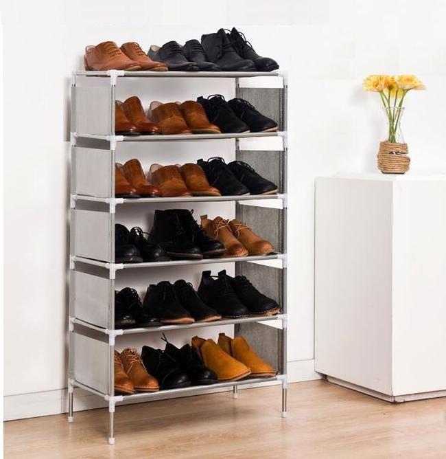 Jual Rak Sepatu Portable Shoes Rack (lemari sepatu 6 susun 0e7f135a21