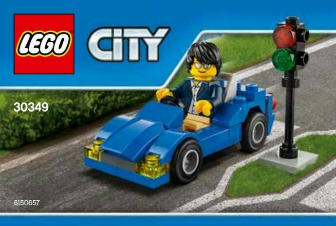 harga Lego 30349 city : sport car polybag Tokopedia.com