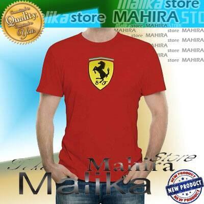 harga Kaos oblong / baju / tshirt ferrari Tokopedia.com
