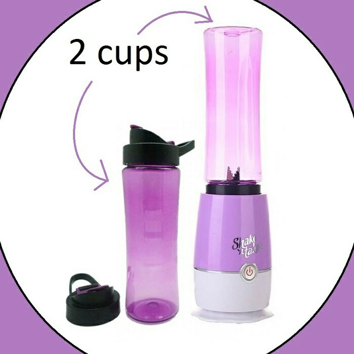 Shake N Take 2 Cup Generasi 3 Double Cup Juicer Blander New