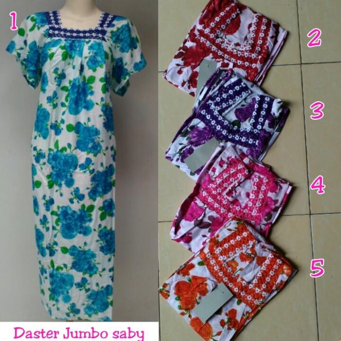 Jual Grosir daster jumbo batik pekalongan baju tidur wanita jumbo ... 5c83091fa2