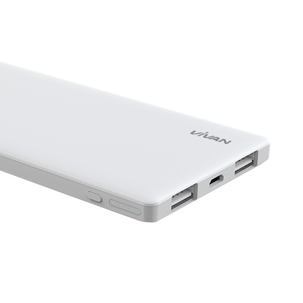 harga Powerbank vivan c5 5000mah original white super slim Tokopedia.com