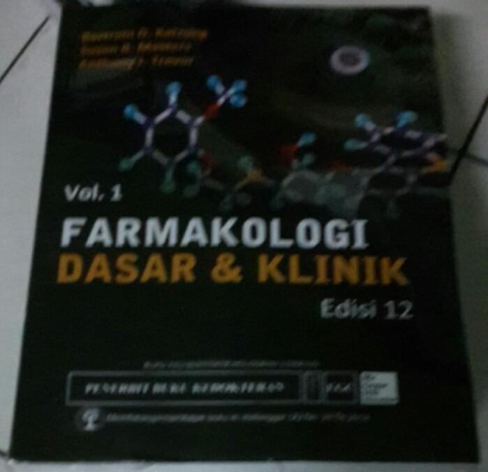 harga Farmakologi dasar & klinik edisi 12 volume 1 dan 2 Tokopedia.com