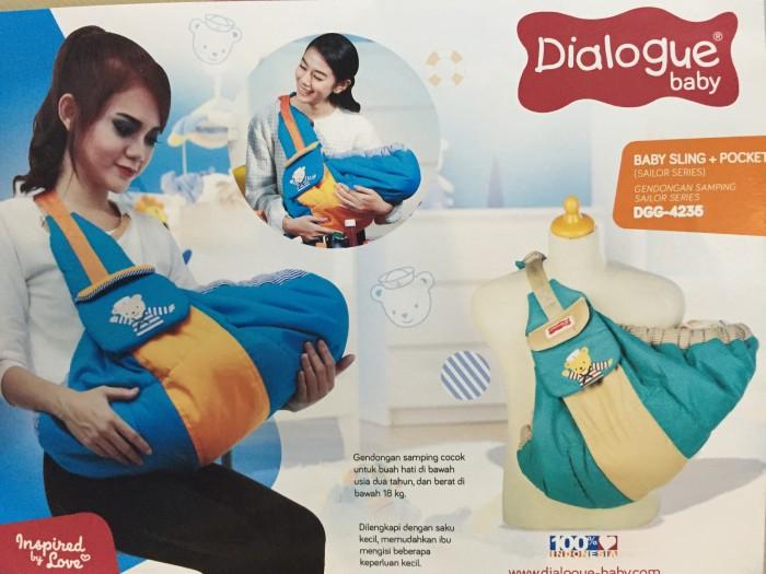 harga Dialogue baby gendongan samping sailor 4235 Tokopedia.com
