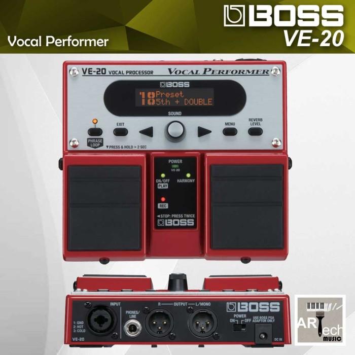 harga Boss ve-20 / ve20 / ve 20 vocal effect processor / efek vocal Tokopedia.com