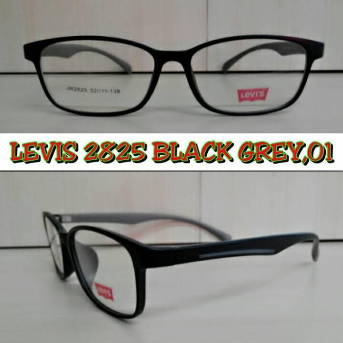 Jual Frame Kacamata Levis 2825 + Lensa Antiradiasi  8d09b24df8
