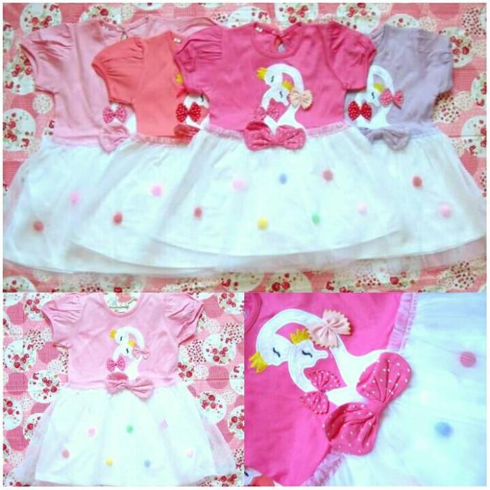 harga Dress angsa 1-3 tahun baju rok anak balita toddler kids perempuan Tokopedia.com