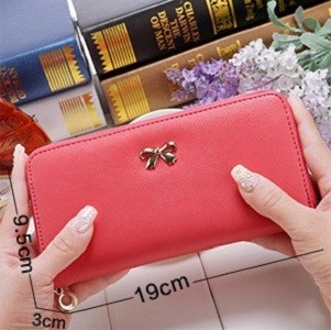 harga Dompet Simpel Pita Korean Cross Pattern Purse Bow Bdo022 Tokopedia.com