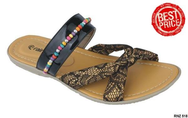 Jual Sepatu Sandal Wanita Cantik Sintetis Sol Tpr Hitam Kombinasi ... 4d85318797