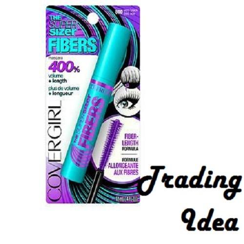 harga Covergirl the super sizer fibers mascara very black original Tokopedia.com