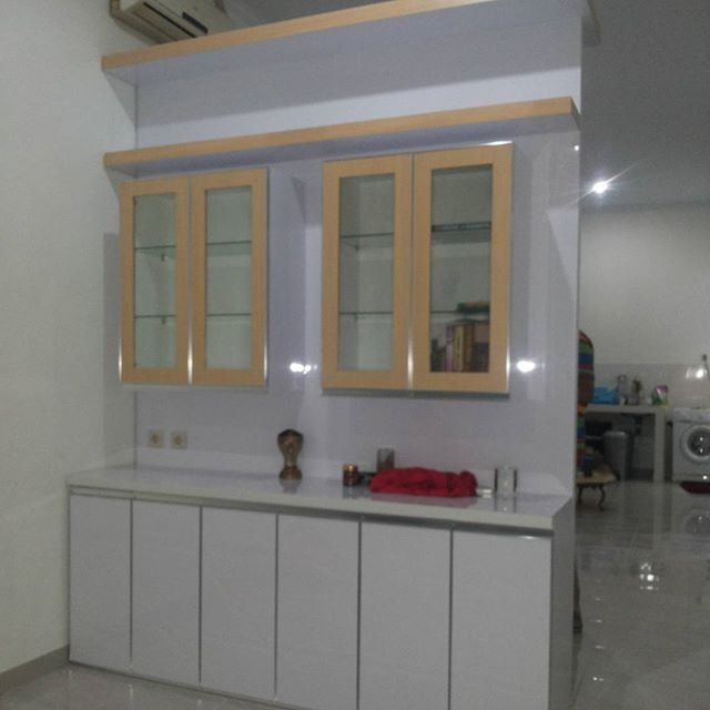 Jual Kitchen Set Minimalis Hpl Bandung Yoshan Furniture Bandung