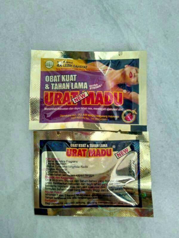 jual jamu urat madu kapsul obat kuat tahan lama izin bpom