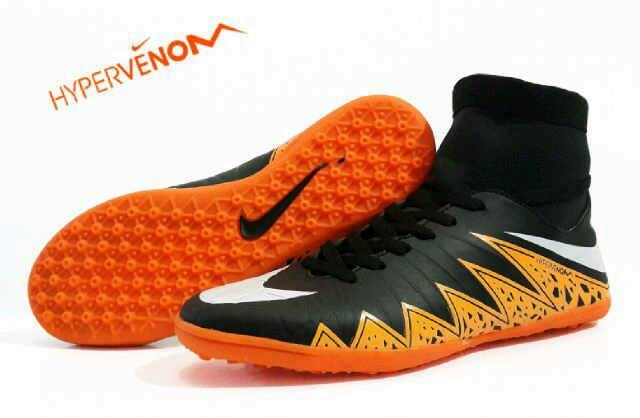Jual Sepatu Futsal Nike Hypervenom Hitam Oren Made In Vietnam