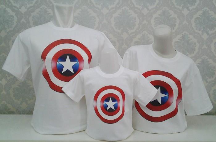 107 Model Baju Couple Captain America Terbaru