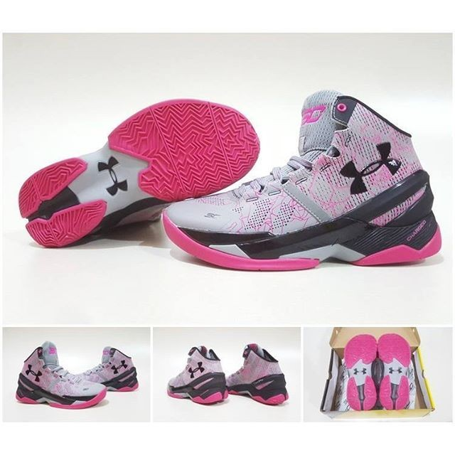 ... promo code for sepatu basket under armour curry 2 high mothers day grey  pink premium d36ad 8fed80fee6