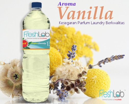 Jual Parfum Laundry Freshlab Aroma Vanilla Freshlab Pewangi