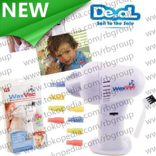 ... Electric Ear Wax Vacuum Vac Wax Removal Pembersih Telinga White