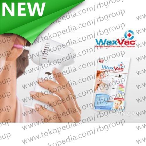 Electric Ear Wax Vacuum Vac Wax Removal/Pembersih Telinga - White