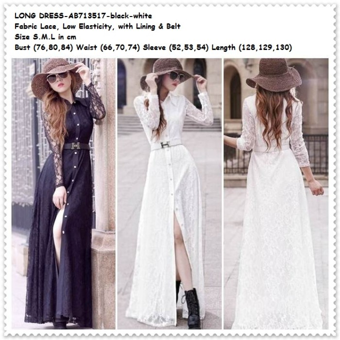harga Lace long dress pesta brukat brokat baju pakaian wanita korea import Tokopedia.com
