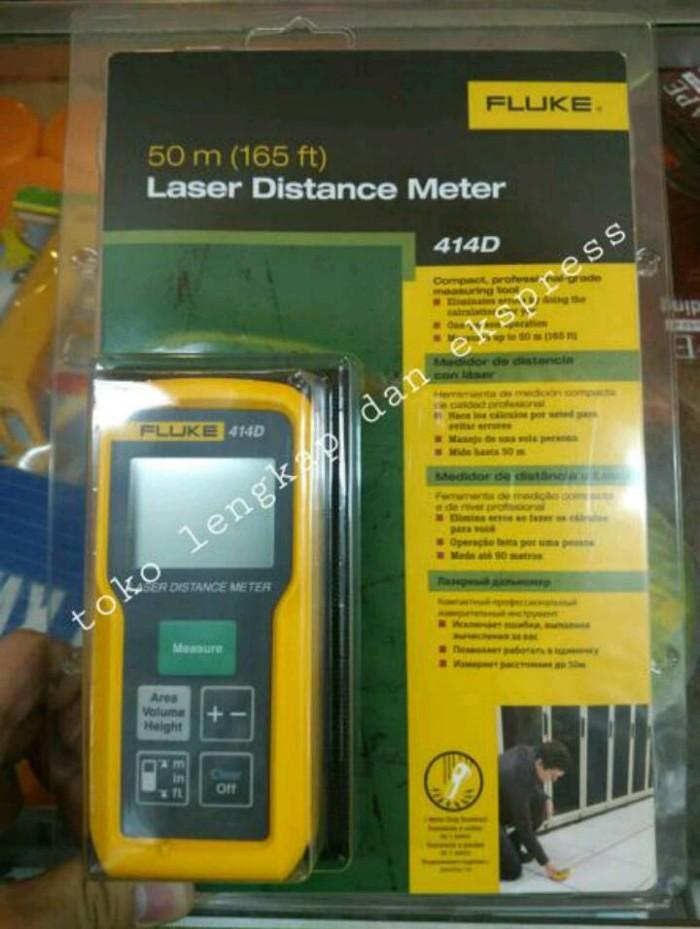 harga Meteran laser digital laser meter fluke 414d 50m 50 meter asli 414 d Tokopedia.com