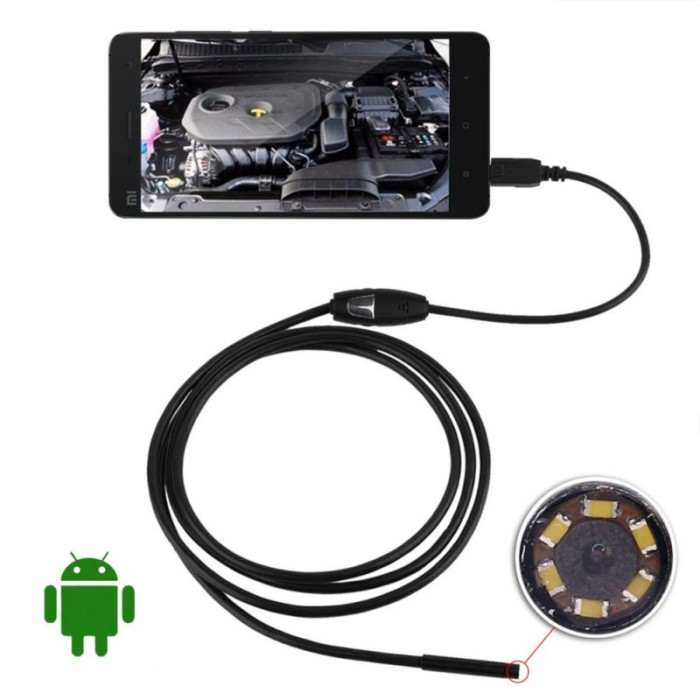 Foto Produk Camera Mini Android Endoscope 5.0M dari Gisele Shop