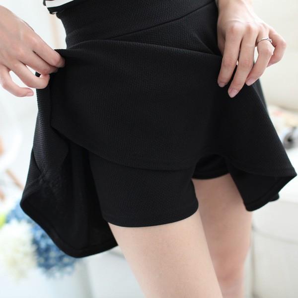 harga Celana flare a line slim kurus rok skirt dalam pants fashion wanita Tokopedia.com