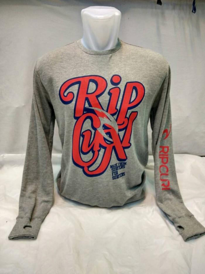 harga Sweater ripcul abu Tokopedia.com