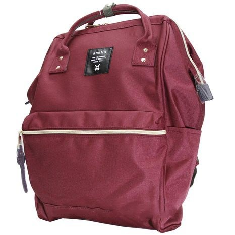 Foto Produk Tas Ransel Anello Handle Oxford Cloth Backpack L Size - Red dari JN Holic