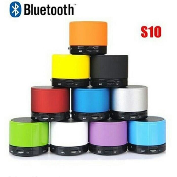Foto Produk Speaker Mini Bluetooth full LED & Motif Speaker S10 Karakter Unik dari Elektronik Kenandra