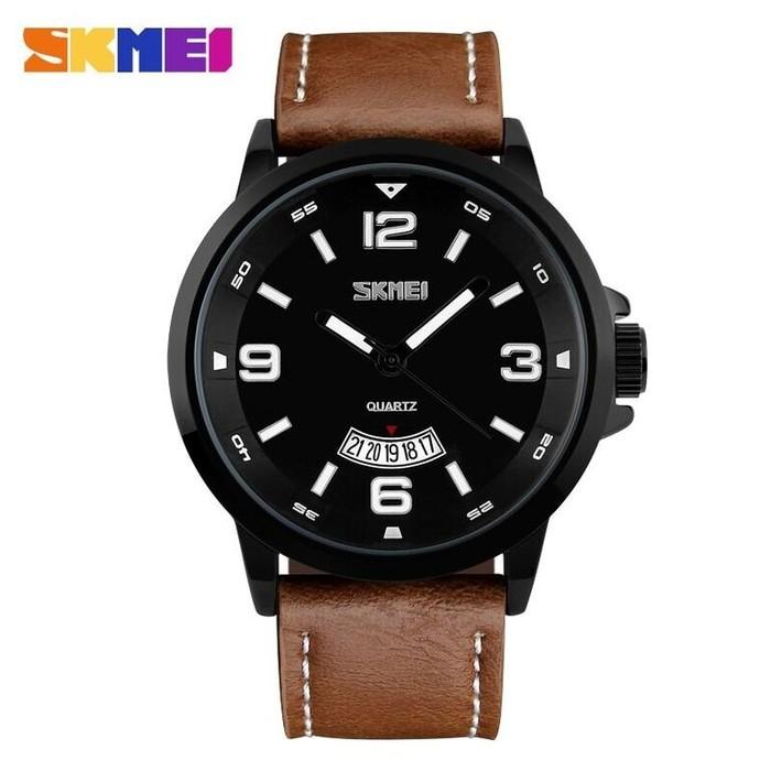 harga Jam tangan pria skmei casual leather strap water resist 30m Tokopedia.com