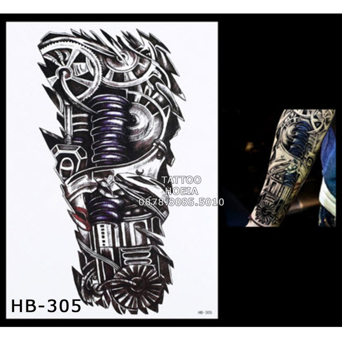 harga Premium!! hb-305 tattoo arm machine - tato mesin - mesin tato temporer Tokopedia.com