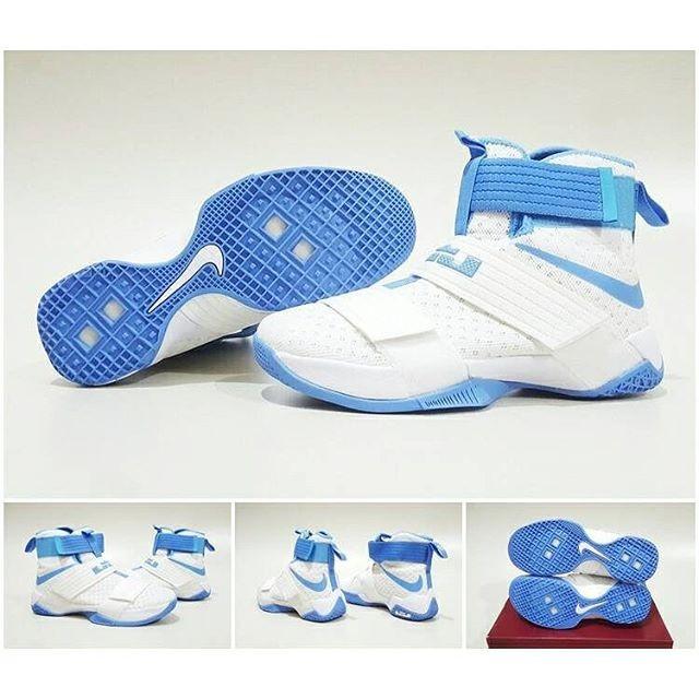 huge discount c575e 28933 Jual sepatu basket nike lebron soldier 10 white blue - Kota Batam - Pivot  Store Online | Tokopedia
