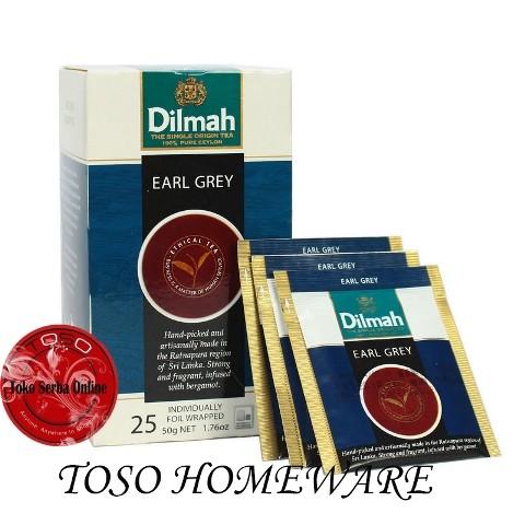 harga Teh Dilmah Earlgrey Tea Earl Grey Flavoured Tea Tokopedia.com