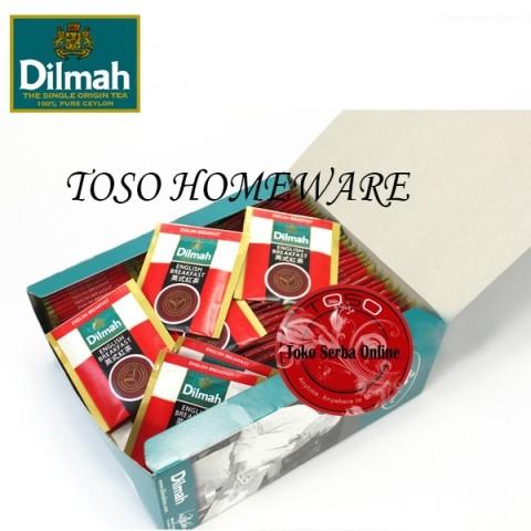 harga Teh dilmah tea 100 sachet english breakfast tea Tokopedia.com